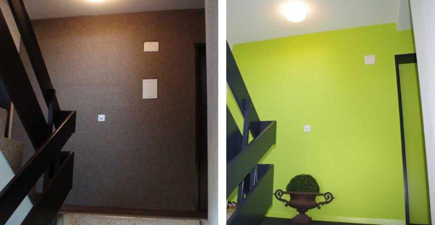 farbgestaltung innenbereich treppenhaus huttwil. Black Bedroom Furniture Sets. Home Design Ideas
