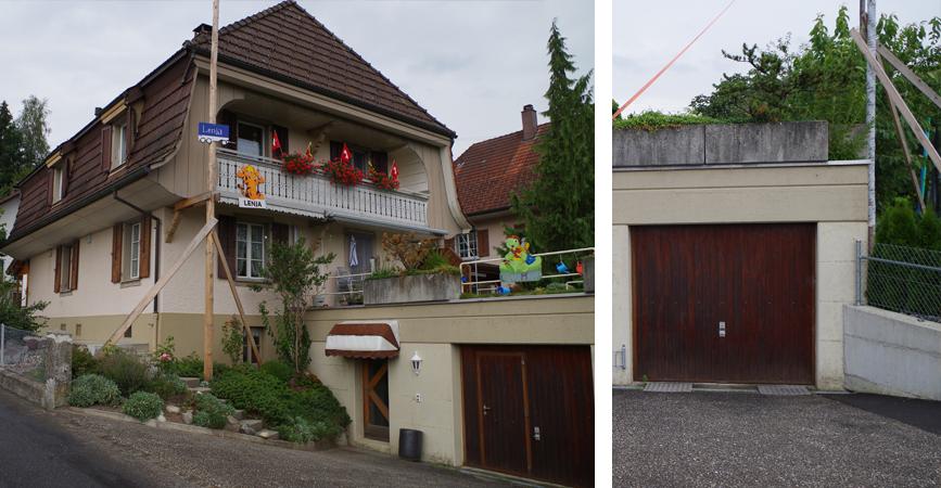 Einfamilienhaus innen und aussen malerarbeiten for Einfamilienhaus innen